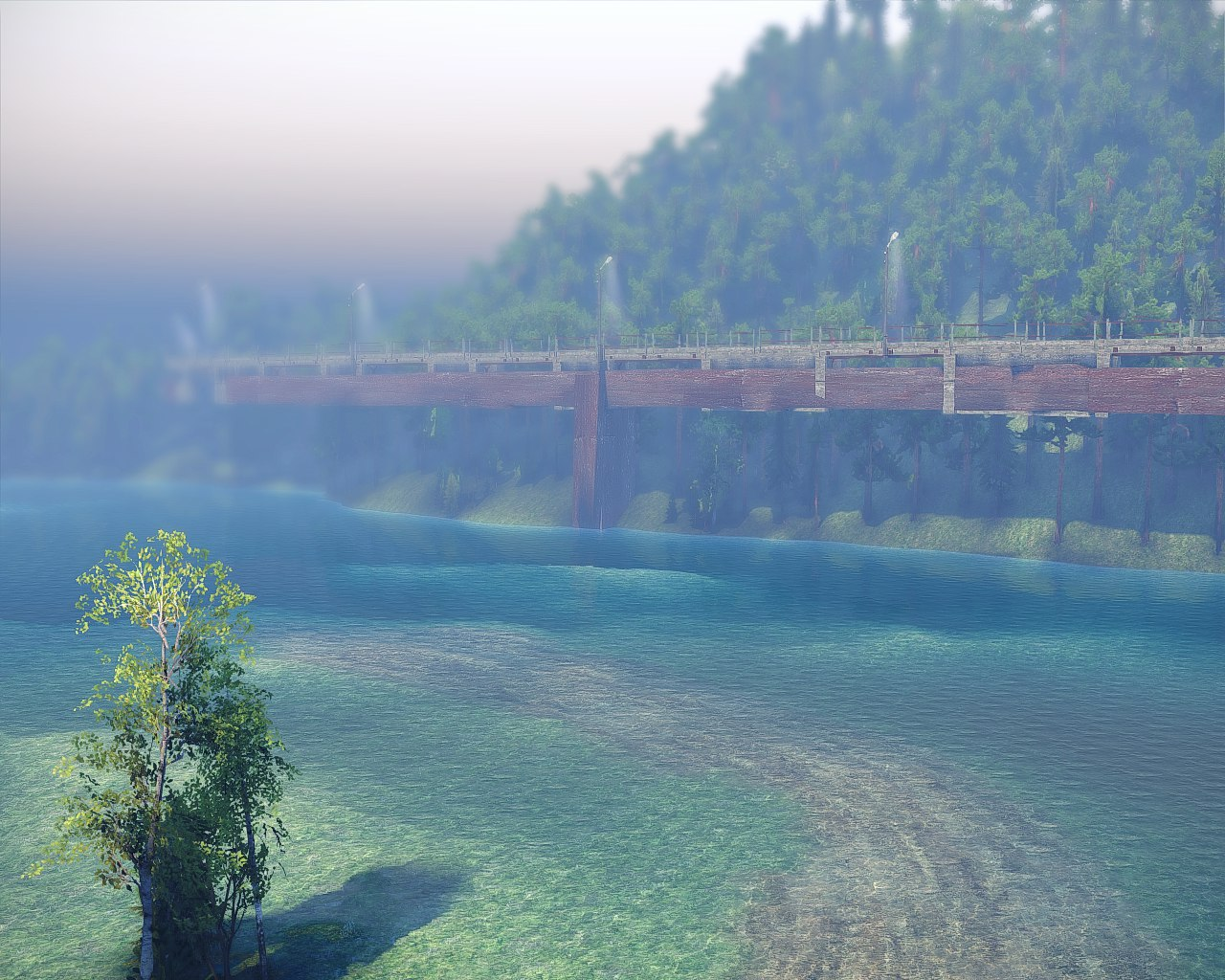 "Карта ""level-22"" (13.04.15.) для Spintires - Скриншот 3"