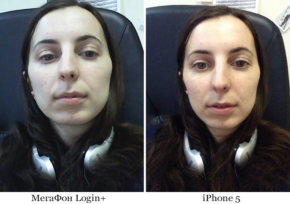 """Фаблет «МегаФон Login+"""" VS iPhone 2"""