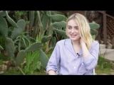 Dakota Fanning on Jodie Foster, The Runaways, and My Little Pony