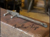 How to make forge a Center Finder ~ Blacksmith's Tool. Swallow Forge No.13