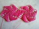 Мотив мельница крючком Beautiful crochet motif