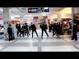 Be Free - Flashmob Men In Black in Khabarovsk