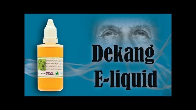Жидкость для электронных сигарет Dekang E-liquid от Fasttech.com