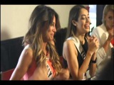 Miss Universe 2015 Candidates having Lunch in UMAMI Doral Miami