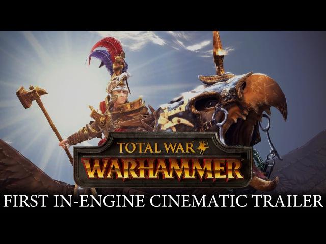 Total War WARHAMMER - In-Engine Cinematic Trailer Karl Franz of the Empire [PEGI UK]