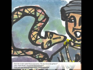 Learn English through Fairy Tales: Moa Kaikai and The Snake God