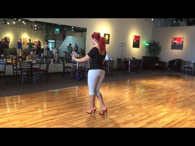 Jorjet Alcocer's Pachanga Workshop at the Columbus Salsa Weekend July 2015