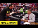 CM Punk negotiates his contract with Mr McMahon