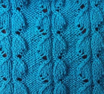 Узор ленивые гусиные лапки 144