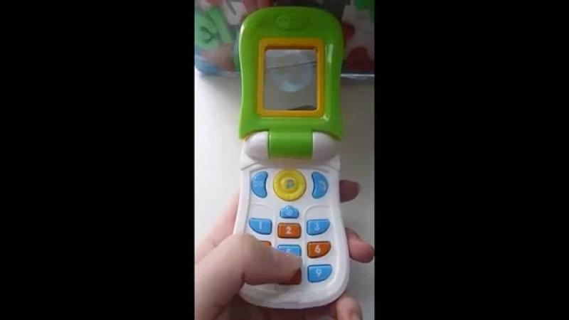 Видео обзор - детская игрушка Tongde Телефон для детей. Baby phone (kidtoy.in.ua)