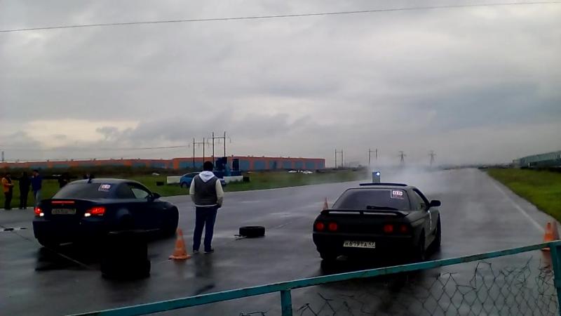 26-09-2015 3 Этап. BMW135 700hp vs Skyline 32