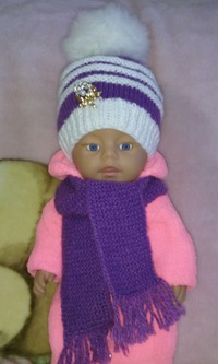 Вязаная одежда для беби бон