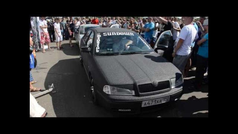 RASCA WORLDWILD RUSSIA, Тверь, 17.08.2013, Студия автозвука Медведь Skoda - SPL2