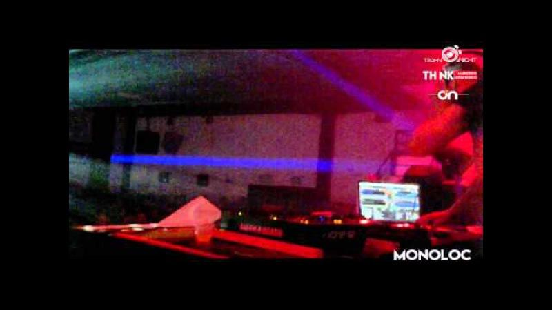 TECHNO NIGHT - MONOLOC (CLR) @ (1 parte ) KOWEL CLUB MANIZALES - 01 APRIL -215