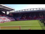 Liverpool Vs Crystal Palace. You'll Never Walk Alone + Gerrard Guard Of Honour