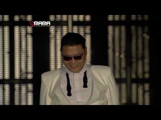 싸이(PSY) - 강남스타일(GangnamStyle) MAMA 2012