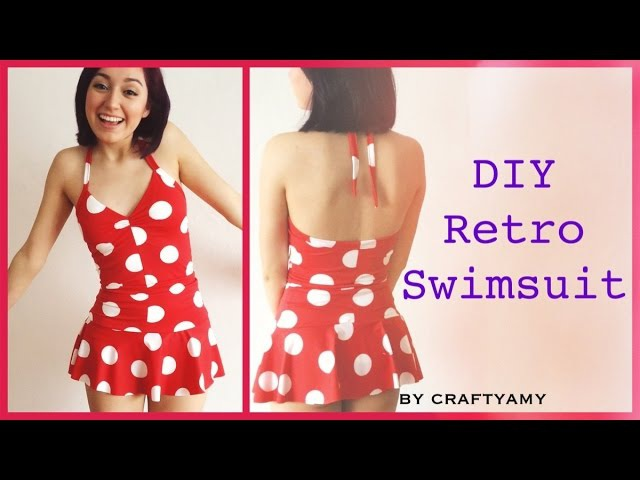 DIY Retro PinUp Swimsuit