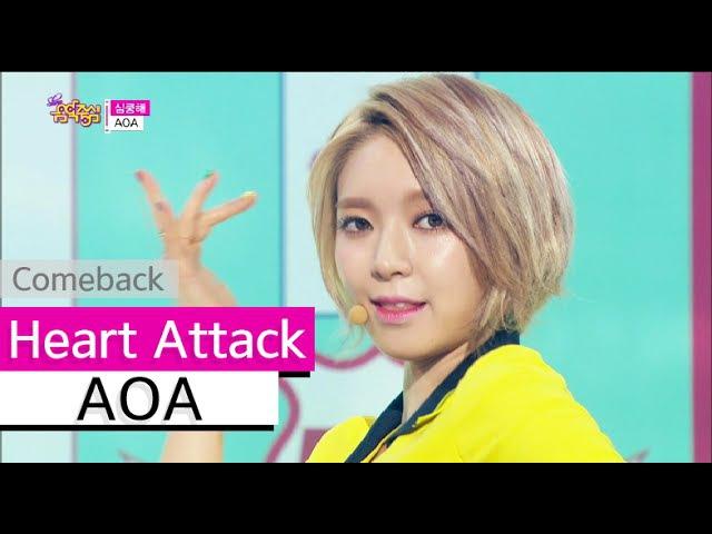 [Comeback Stage] AOA - Heart Attack, 에이오에이 - 심쿵해, Show Music core 20150627