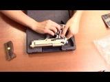 Пневматический пистолет Umarex Beretta M 92 FS хром дерево