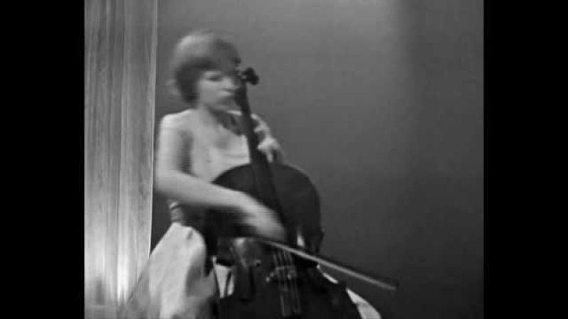 Jacqueline du Pré, Saint-Saëns - Allegro appassionato Op.43.wmv