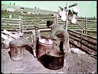 Как жили румыны в Марамуреше в '60 годах - Cum trăiau românii din Maramures în anii '60 - ( documentar didactic de arhiva )