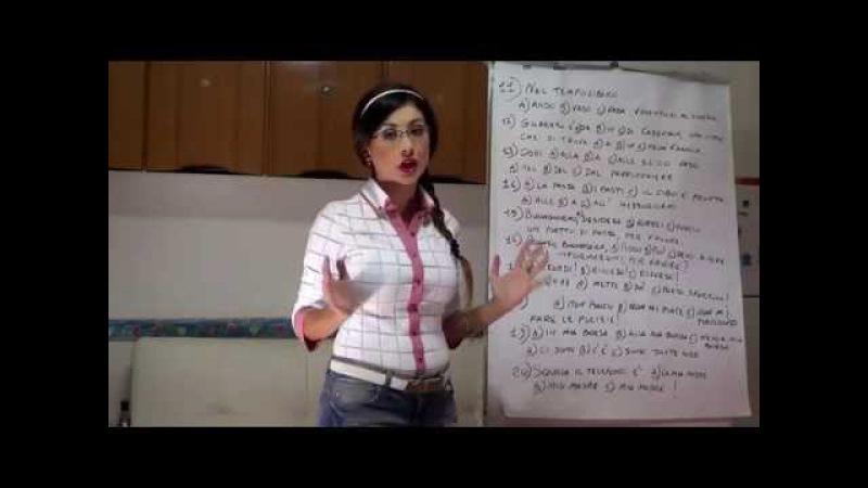 OWI - Esame di italiano livello A1 (Elementare)