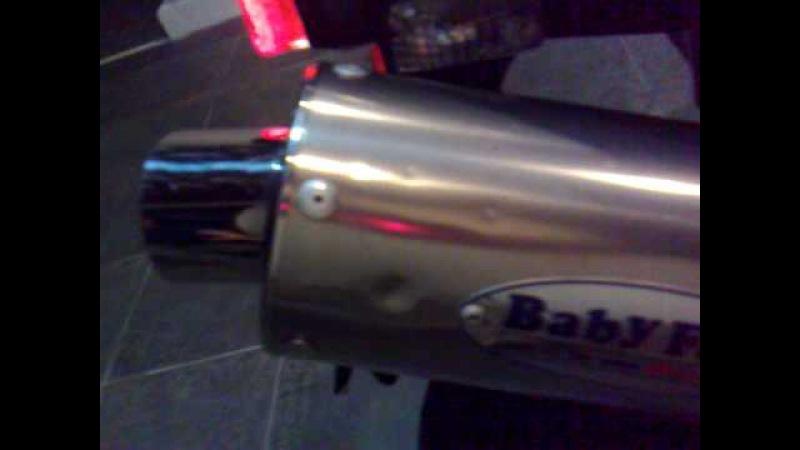 Honda VTR 1000 sp2 2002 - Babyface(Sato Racing) Slip-on Exhaust mounted