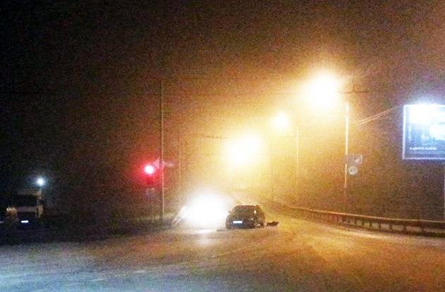 ДТП в Таганроге: на Бакинском мосту лоб в лоб столкнулись две легковушки