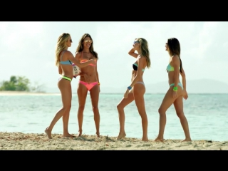 Behind The Victoria's Secret Swim Special- Serious Competition