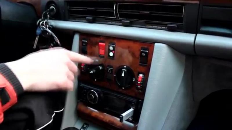 Обзор по-нашому! Mercedes-Benz w126 300SE (Шейх)