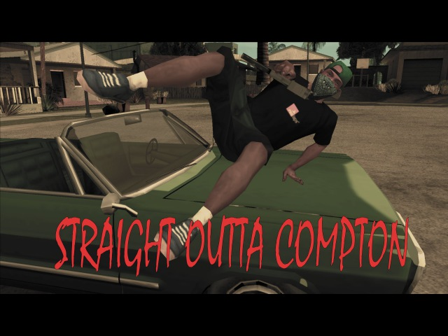 Straigh Outta Compton - San Andreas Video