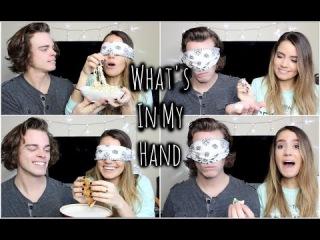 What's In My Hand Challenge w/ Patrick | TessChristine
