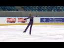 ISU 2014 Jr Grand Prix Dresden Men Free Skate Daniil BERNADINER RUS