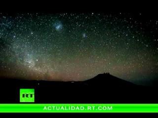 Un vídeo del cielo sobre el desierto Atacama muestra la rotación de la Tierra