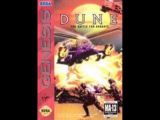 Dune II The Battle for Arrakis (Genesis) - Command Post