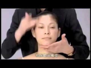 Японский массаж лица Асахи Зоган с русским переводом  Yukuko Tanaka's Face massage Zogan Asahi