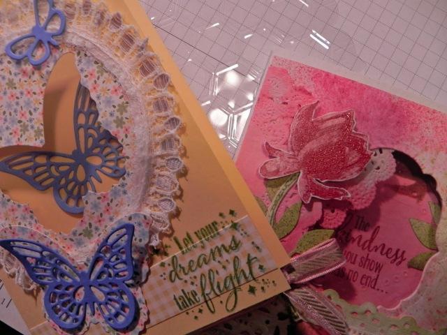Unique Card Making Techniques with Acetate