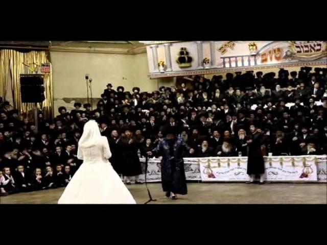 Bobover Rebbe's Daughter Wedding