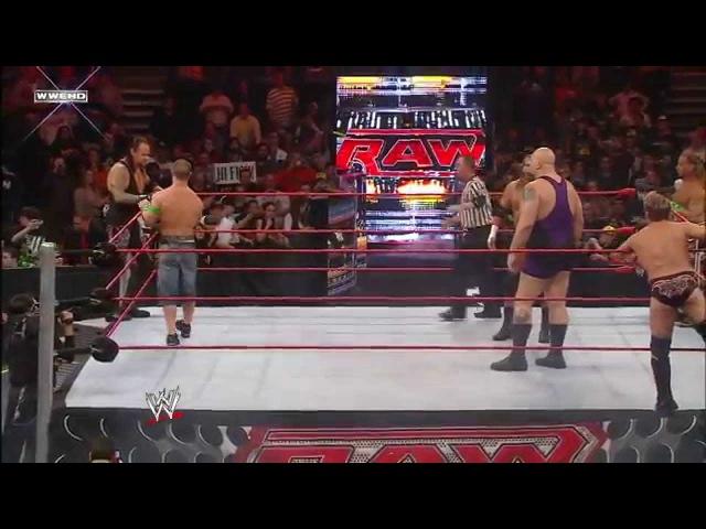 John Cena The Undertaker vs. D-Generation X vs. Jeri-Show: Raw, November 16, 2009