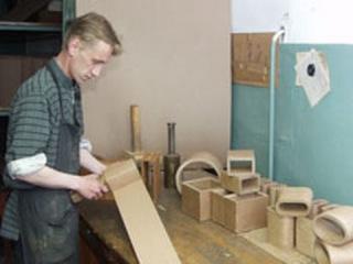 Технология изготовления холуйской шкатулки