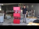 Мебель-трансформер. Cubrick Сabinet