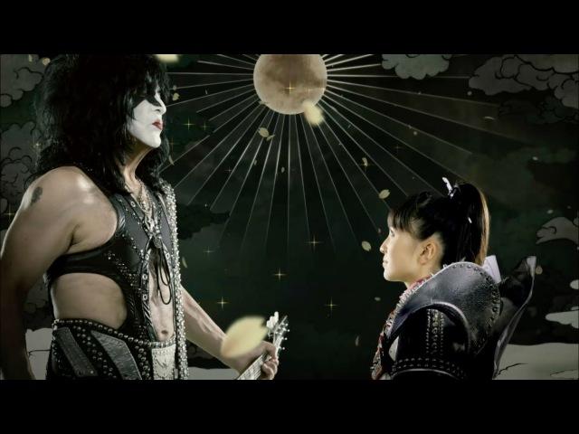 【ももクロMV】ももいろクローバーZ vs KISS - 夢の浮世に咲いてみな(YUMENO UKIYONI SAITEMINA/M