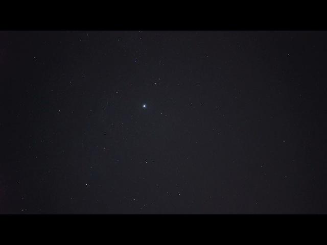 Пролёт Иридиума 76 в небе над Пензой 13.08.2015