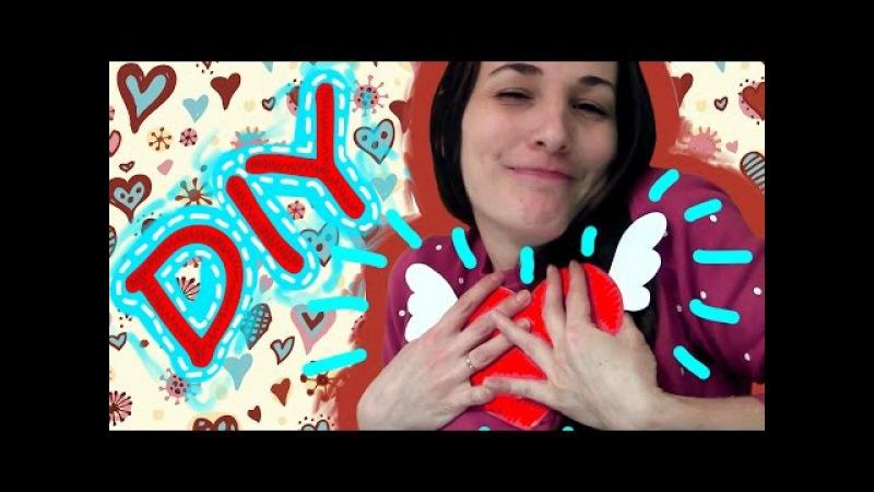 ♥ DIY ♥ Открытка с сюрпризом ♥ Валентинка к 14 февраля ♥ Можно к 8 марта