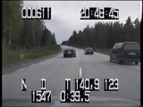 Lotus Omega vs Swedish police (Very high quality)