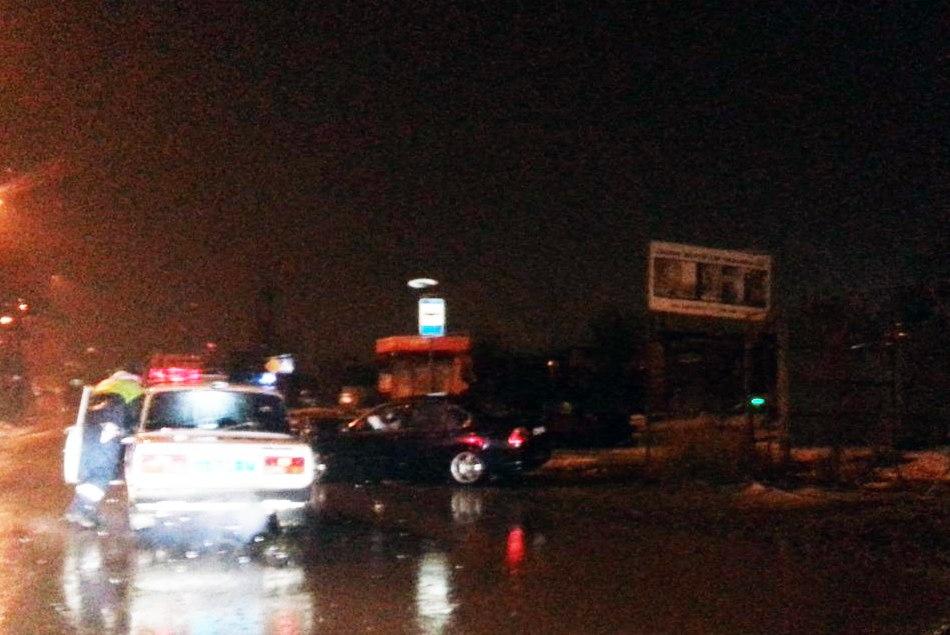В Таганроге лоб в лоб столкнулись BMW и Daewoo Nexia