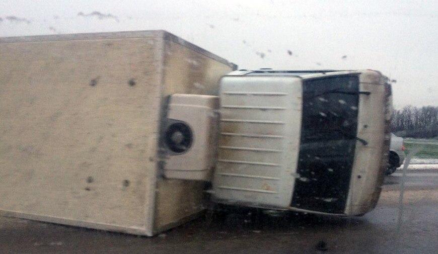 На трассе «Ростов-Таганрог» на подъезде к Таганрогу столкнулись пять автомобилей
