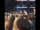 @ fifthharmony just won fiercest fans and @ rockyr5 @ ratliffr5 wore harmonizer shirts. rdma