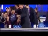 Путин ухаживает за первой леди Китая 11 11 2014