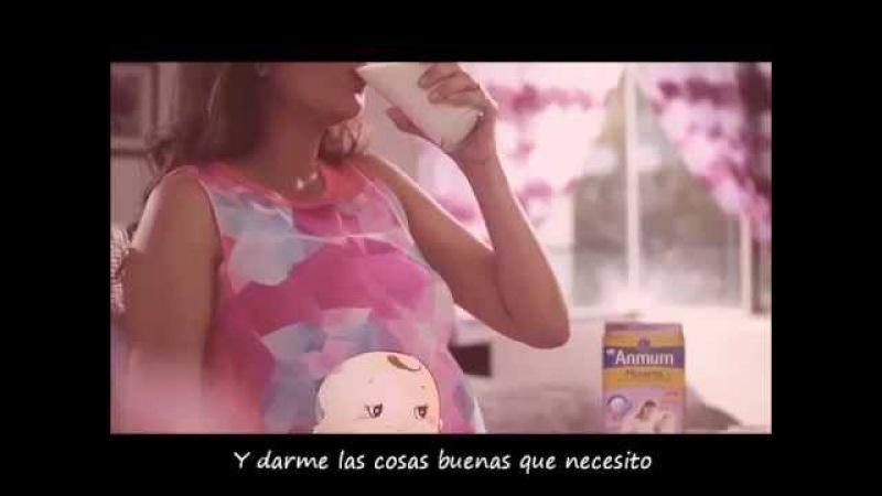 El embarazo contado por el bebé muy tierno Anmum Film español